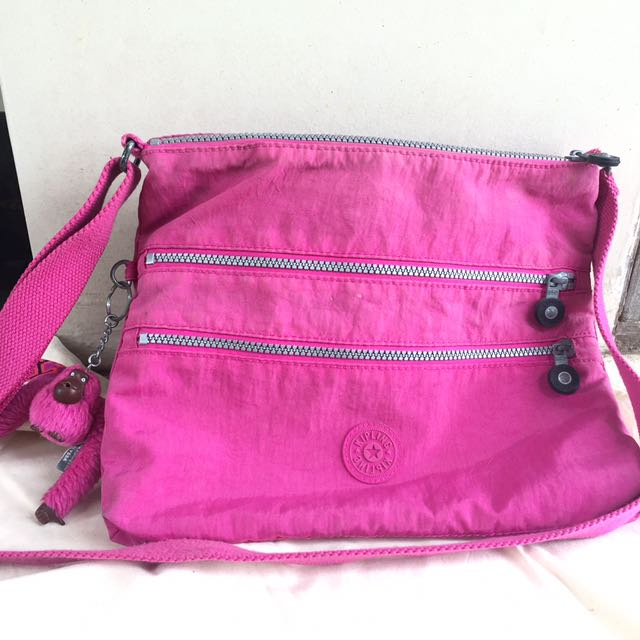 Kipling Fuschia Crossbody