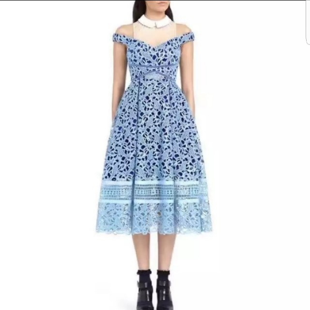 Lace Flower Dress $60 ono