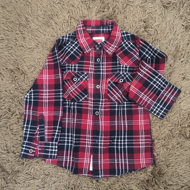 Levis Checked Shirt
