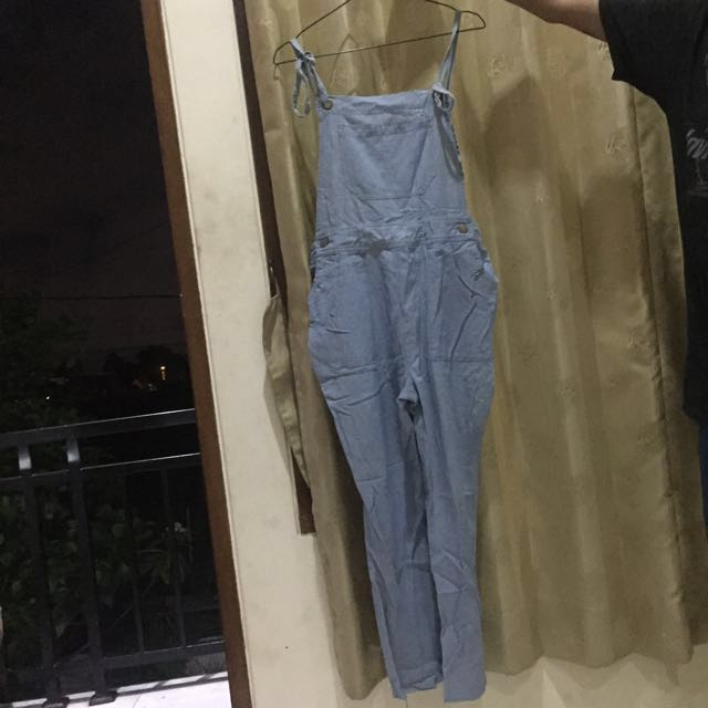 Light Denim Chambar Jumpsuit Overall Dungaree