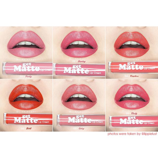 Lip Matte Silky Girl Lip Cream Matte