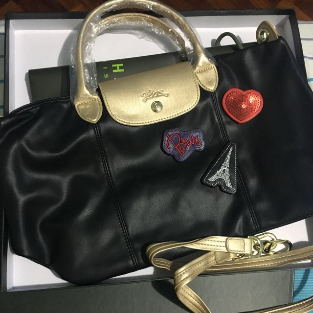 Longchamp Cuir Patch