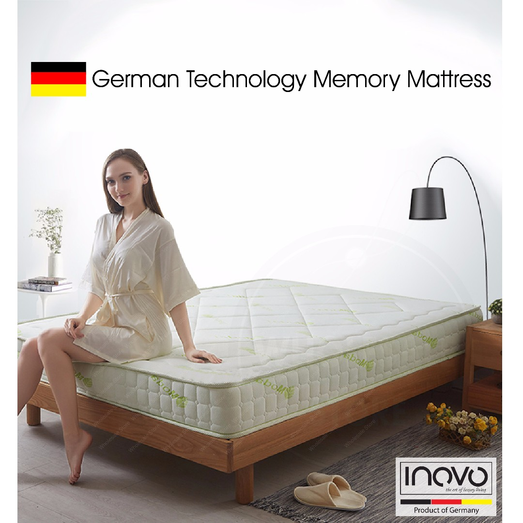 online store eb12d 95afe Memory Foam Mattress / bed frame / single size mattress / queen size  mattress / super single size mattress / single size bed frame / queen size  bed ...
