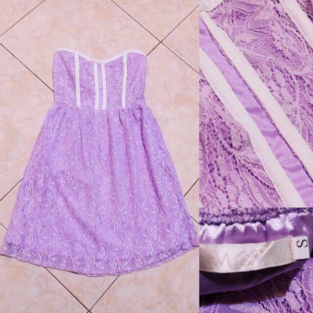MGP Purple Laced Dress
