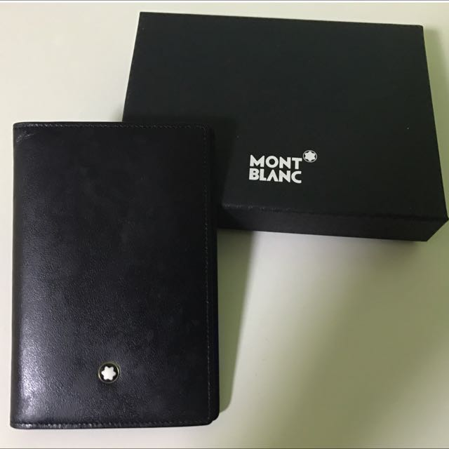 Mont Blanc Business Card Holder Luxury Bags Wallets On