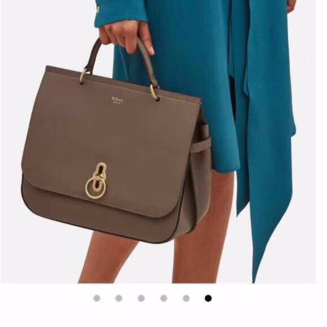 1c643916d315 ... france mulberry amberley leather shoulder bag chocolate brown luxury  bags wallets on carousell e47d2 14c03