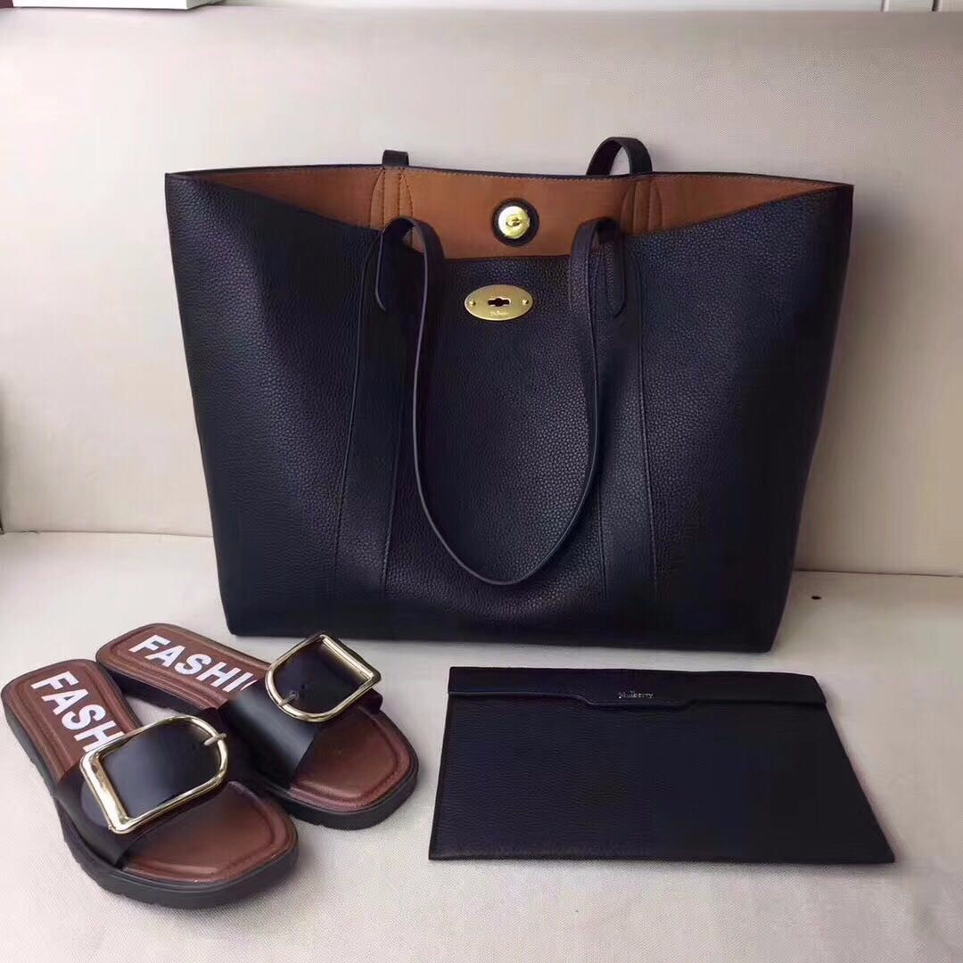 f26b8143930 sale how to authenticate mulberry handbags b66c9 8c7f3; new arrivals mulberry  bayswater shopping bag black luxury bags wallets on carousell d03fc 42141