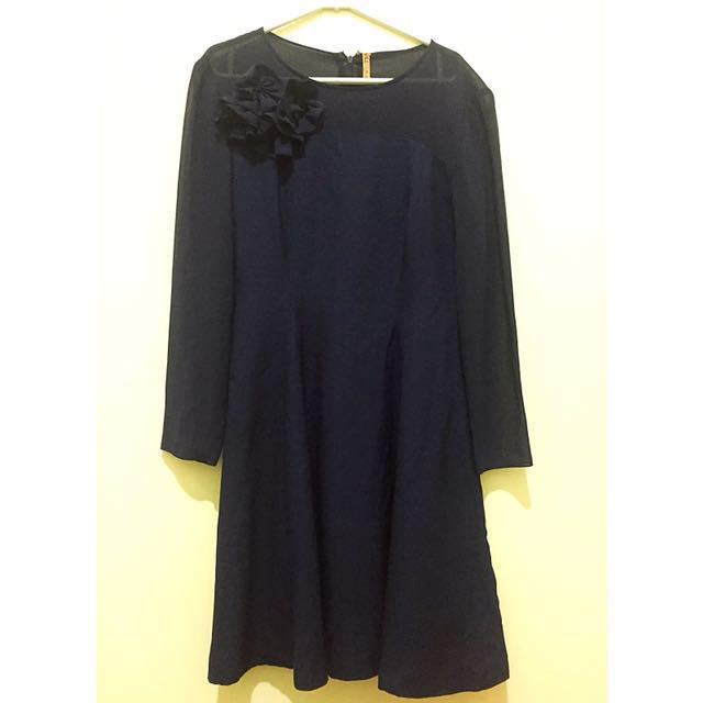 Navy Party Dress #100k4item