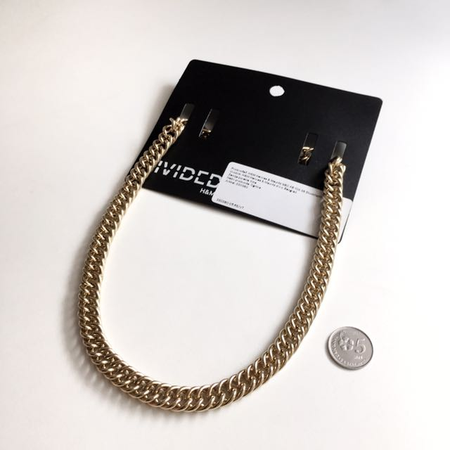 NEW H&M Gold Chain Necklace