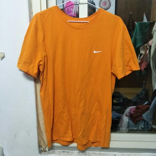 超潮橘色Nike 短袖