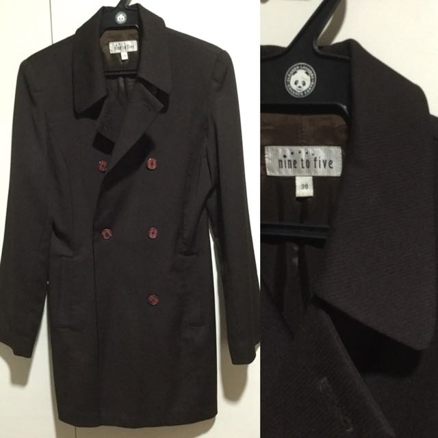 Nine to Five long coat - size M (38)
