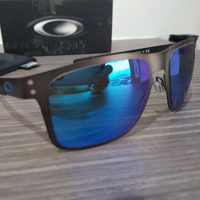 e5a24e0bb09 Oakley Holbrook Metal PRIZM Sapphire (Polarized)