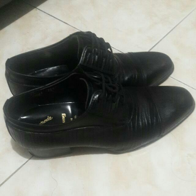 Black Leather Mens Shoes From Korea