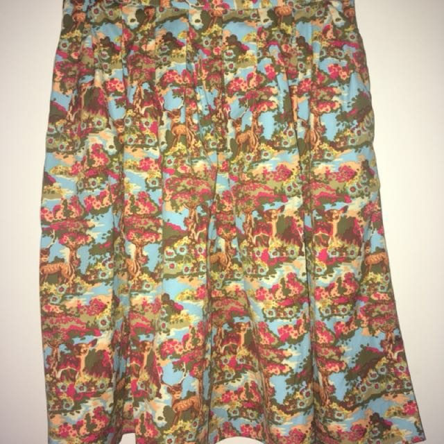 Origami Doll skirt size 8