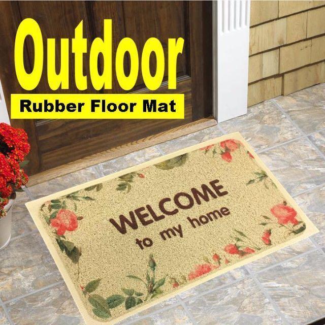 Outdoor Waterproof Rubber Floor Door