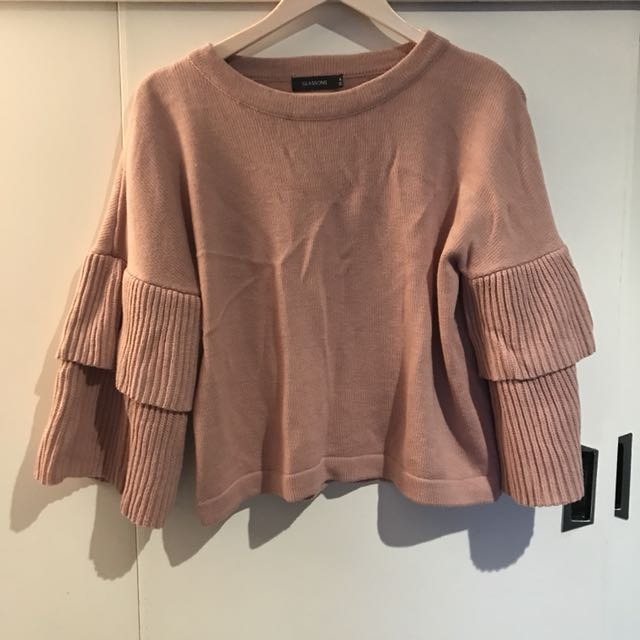 Oversized sleeves jumper