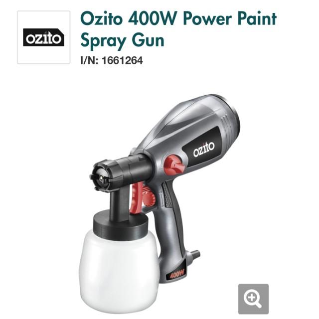 Ozito 400W power paint gun