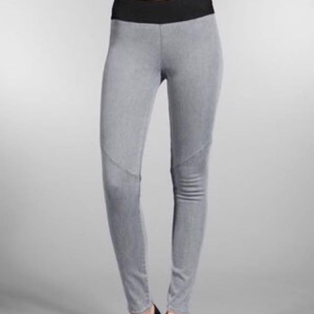 Paige Premium Denim Glam Rock Pull On Leggings Size Xs