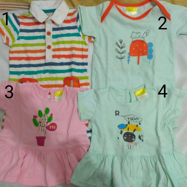 Paket 2 jumper + 2 dress merk mothercare dan eyka