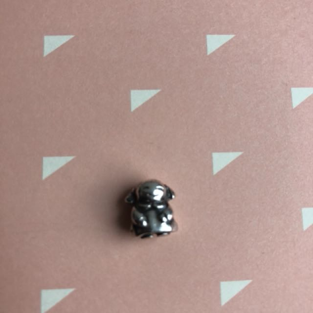 Pandora authentic silver girl charm