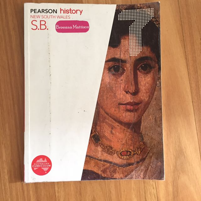 Pearson's history