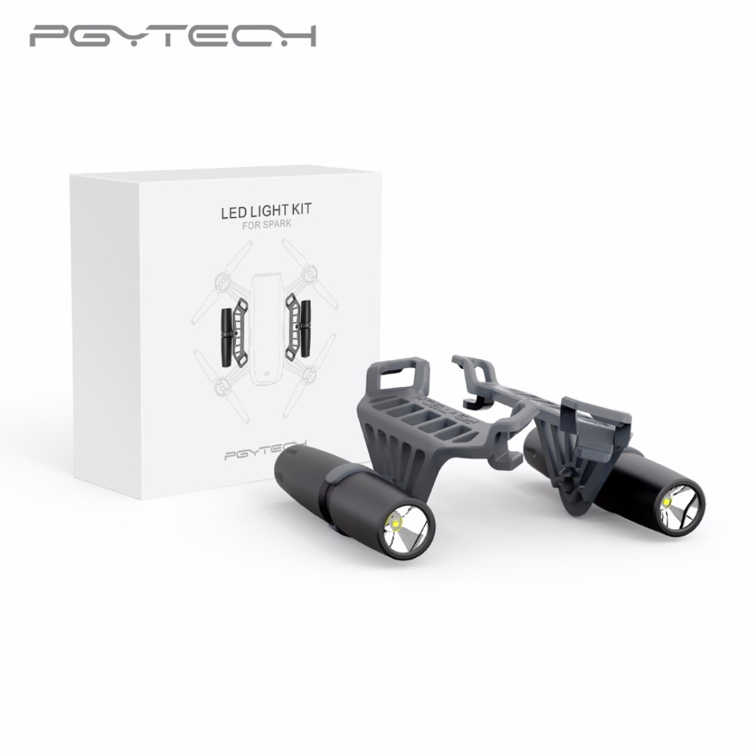 PGYTECH LED Light Kit For DJI SPARK Drone Accessories Photography