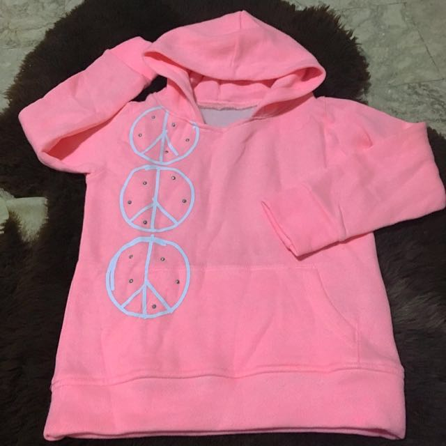 Pink Peace Sweater