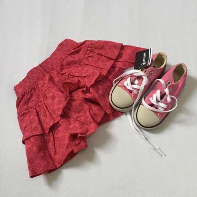 Pink skirt New