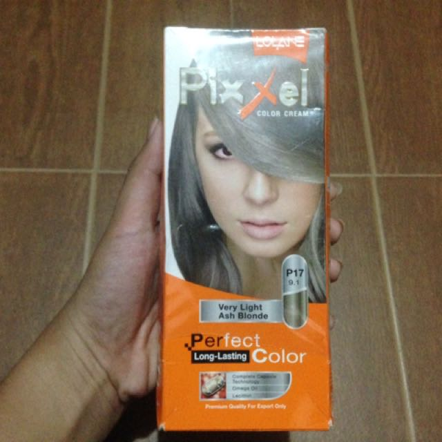 Pixxel Hair Color (Ash Blonde)