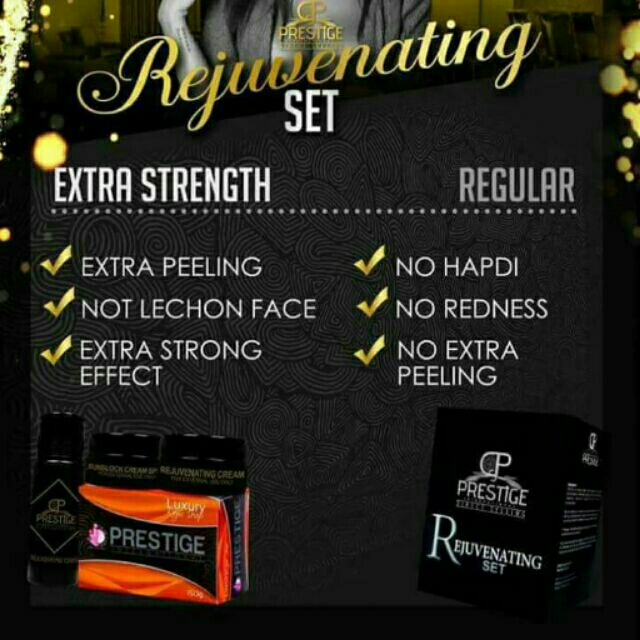 Prestige Rejuvenating Set (Regular)
