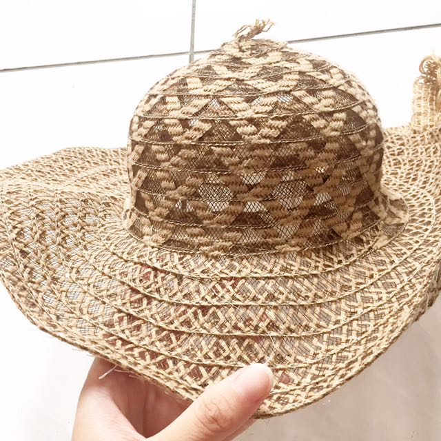 Pretty beach hat