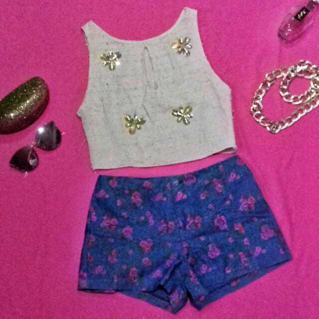 Highwaist Floral Shorts (REPRICED!)