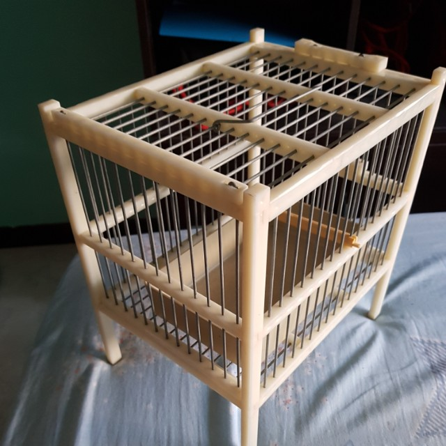 Puteh bath cage, Pet Supplies, Pet Accessories on Carousell