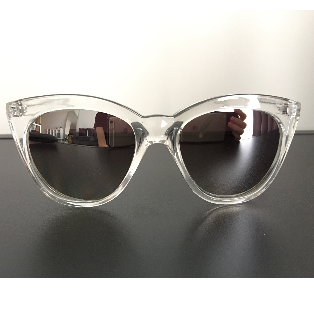 ded6be4ce9 Quay Australia Isabell Mirror Sunglasses - Clear