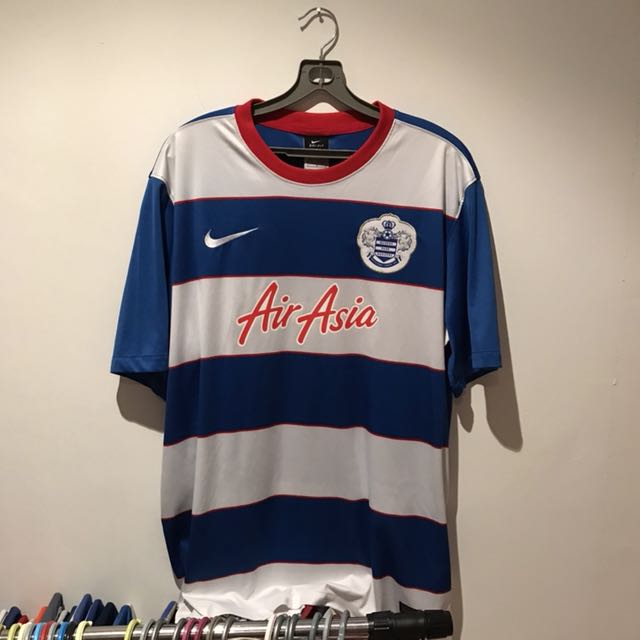 0ca6610ebef Queens Park Rangers FC home jersey, Sports, Sports Apparel on Carousell