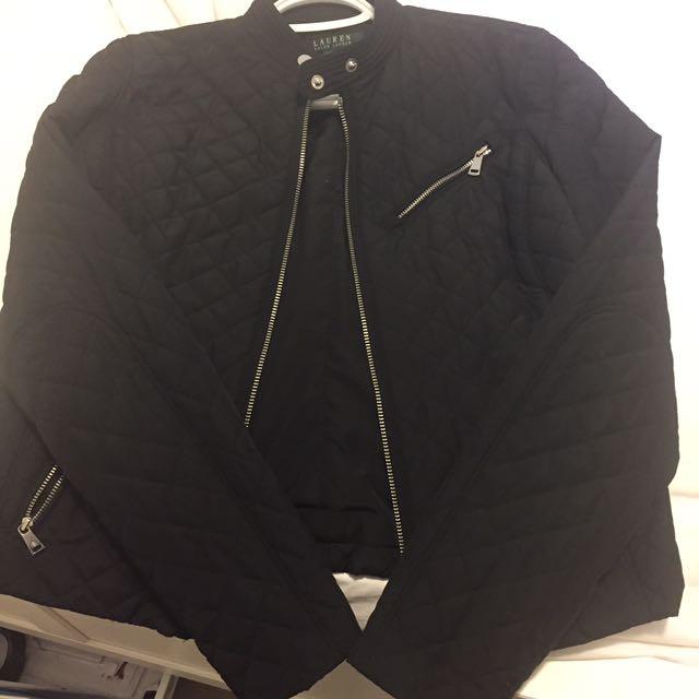 Ralph Lauren biker jacket