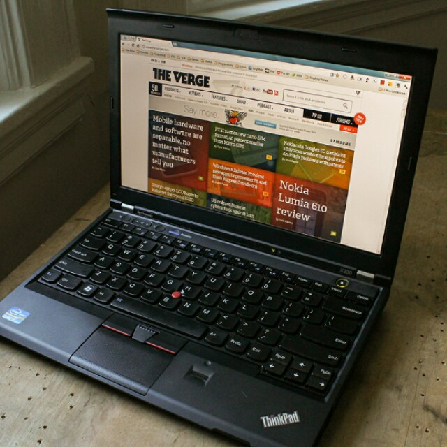 Used i5 Lenovo ThinkPad X230 Laptop