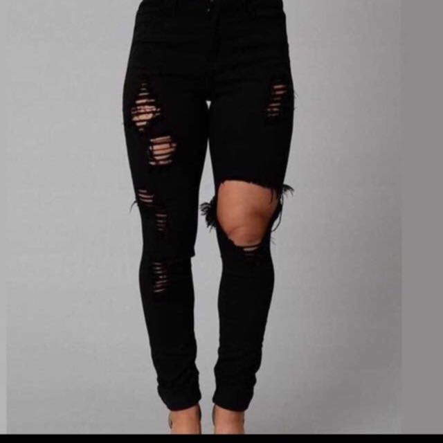 Ripped Jeans size 10