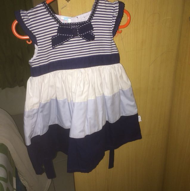 Sailor dress anak