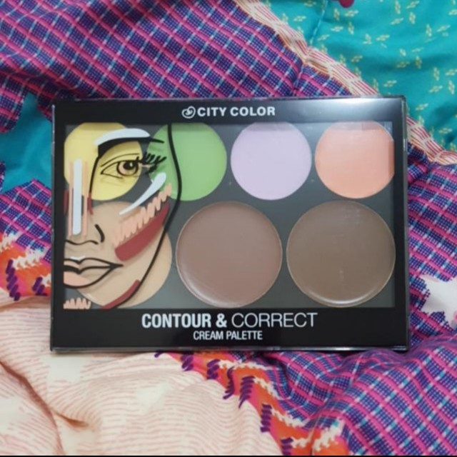 SALE !! - CITY COLOR - Contour & Correct Cream Palette