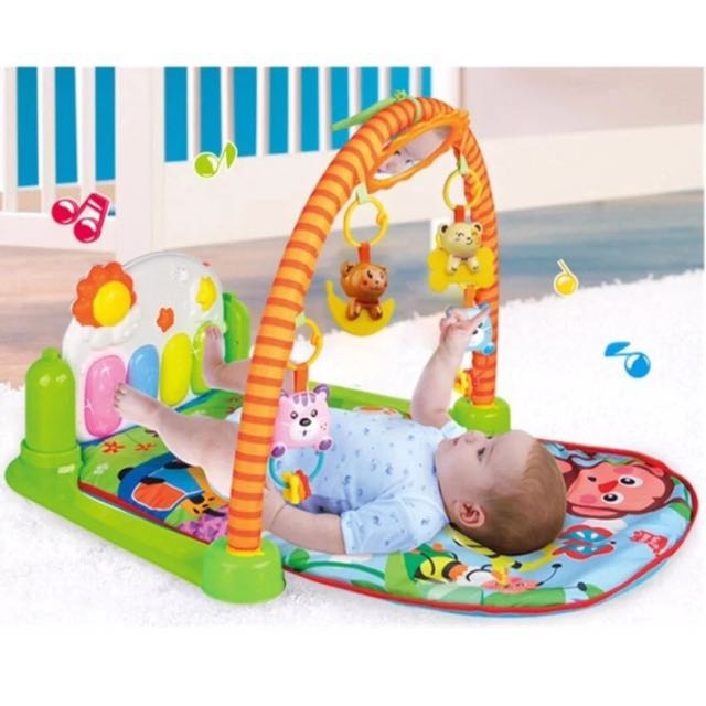 SALE Baby piano tummy gym