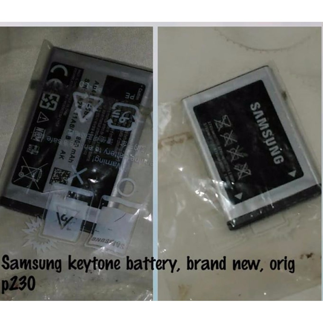 Samsung keytone battery