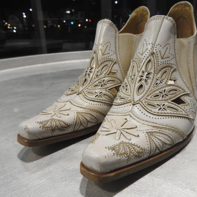 "SAN Marina Paris ""cowgirl ankle bootie"""