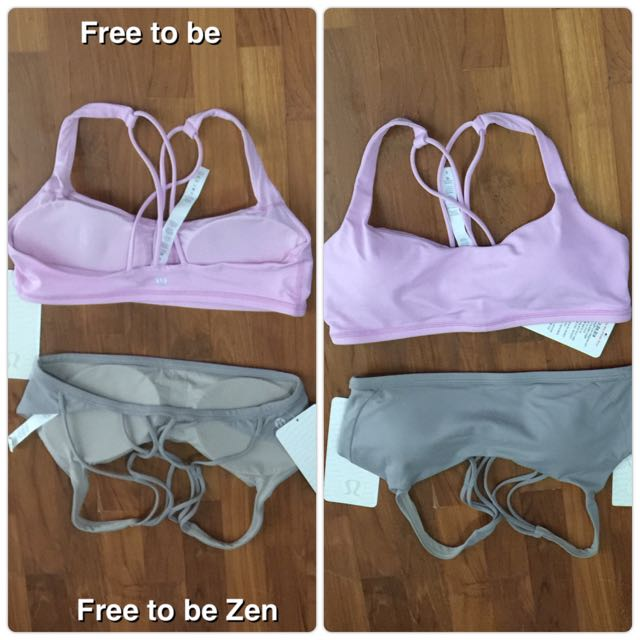 Size8 Free to Be range NWT lululemon