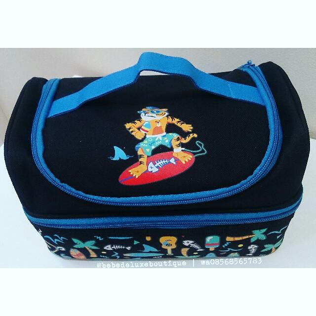 SMIGGLE Lunch Bag Double Decker Tiger