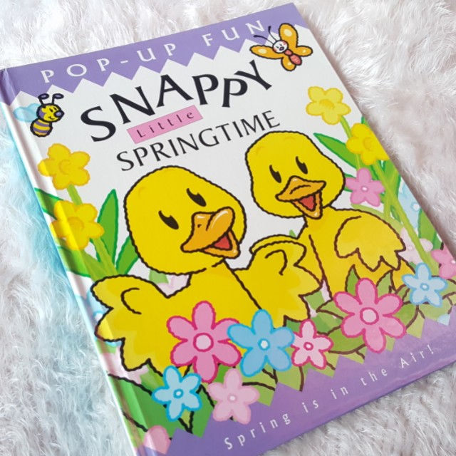 Snappy little springtime childers book