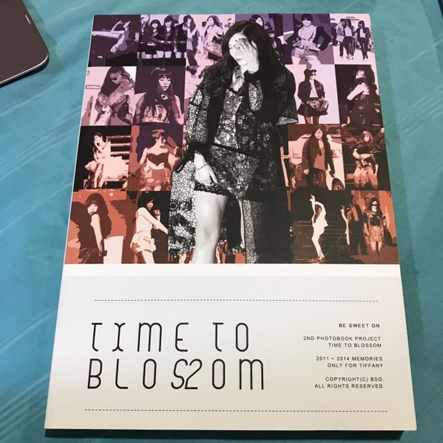 SNSD Girls Generation Tiffany Fansite Photobook