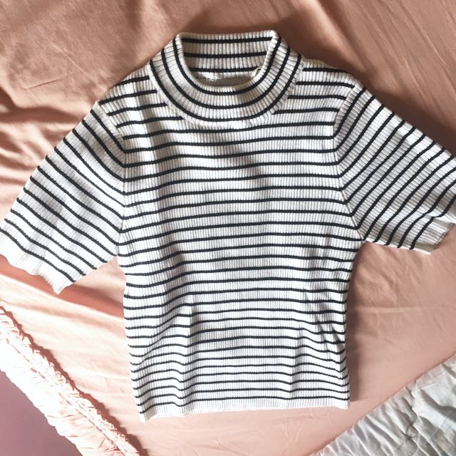 Stripped top knit