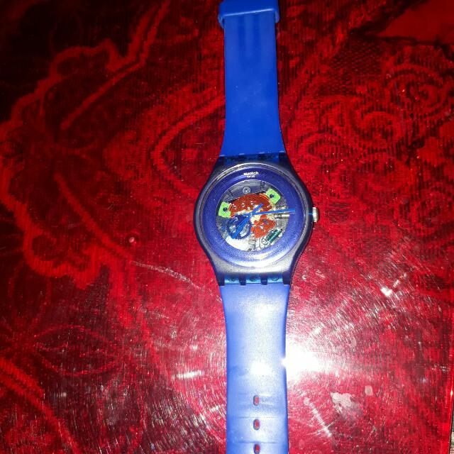 Swatch Transparan Blue