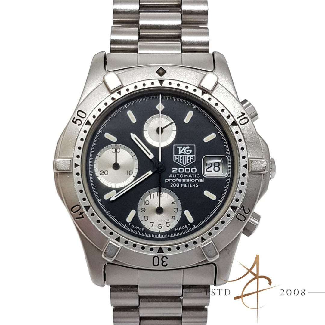 3a7dc09d858 Tag Heuer 2000 Professional Automatic Chronograph Ref 162.006, Luxury,  Watches on Carousell